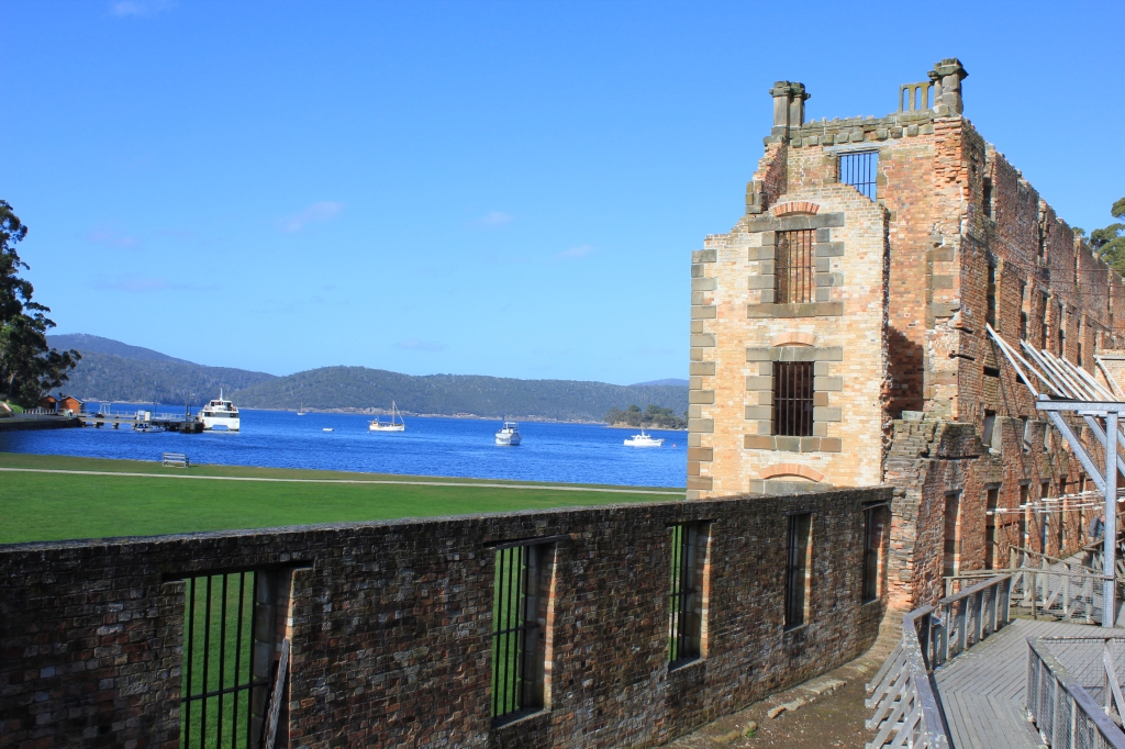 Port Arthur Historic Site - view to the bay