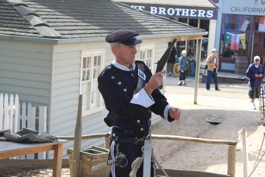 Sovereign Hill Policeman